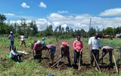 Students in Kenya Learn How to Garden During a Pandemic
